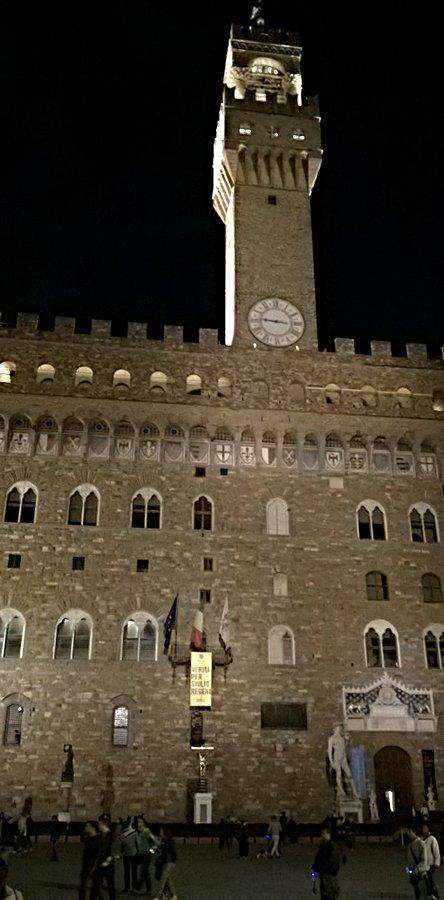 visita guidata notturna firenze palazzo vecchio