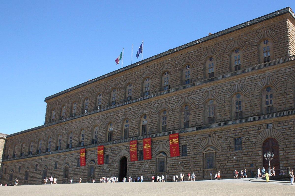 tour guidato palazzo Pitti