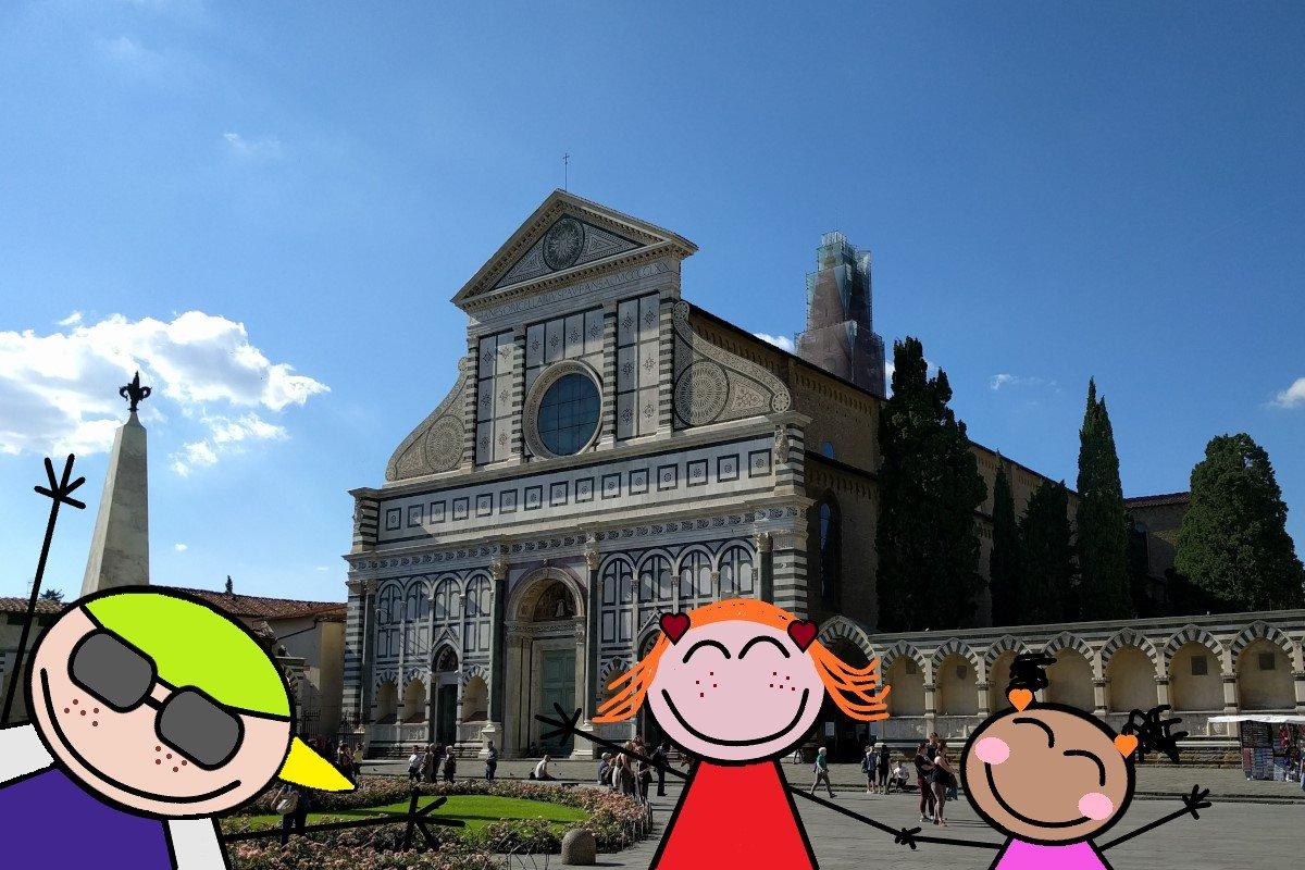 Firenze spiegata ai bambini